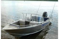 Продам катер Wyatboat-430 TDCM (салон-трансформер) в Биробиджане
