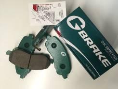 Дисковые тормозные колодки Gbrake GP03027 задние pf-5203