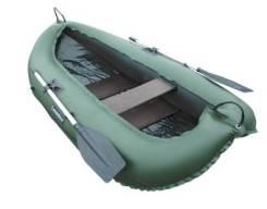 """Надувная лодка ПВХ """"Компакт-240"""", две слани из фанеры, одноместная"""