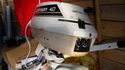Лодочный мотор Джонсон 4 л. с. 2х тактный б/у .