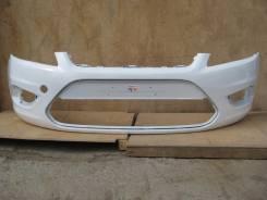 Ford Focus II 08- Бампер передний окрашенный Белый(7VTA Frozen White)