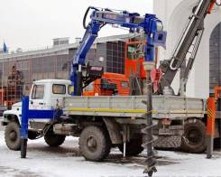 Продается ямобур-манипулятор на базе ГАЗ-33081