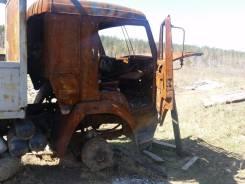 Продам на запчасти Камаз 53212 лесовоз-сгорела кабина.