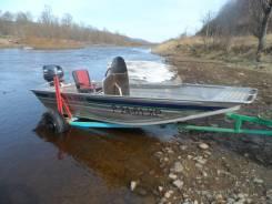 Продам плоскодонную лодку с мотором