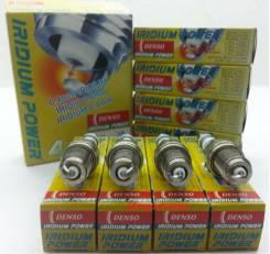 Комплект (4 шт. ) иридиевых свечей Denso ik20 iridium power. Доставка