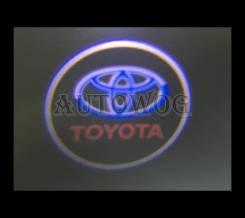 Подсветка в двери на Land Cruiser 200 (вместо штатных)