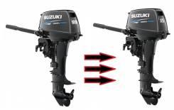 Переделка Suzuki DT 9.9 л. с. в Suzuki DT 15л. с.