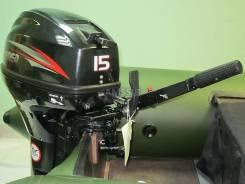 Лодочный мотор 15 л. с, 2T Hidea 9.8. Честная гарантия - 2+ год