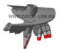 БК-01203.50.000 Бур лопастной Ф500