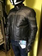 Cafe Racer куртка кожаная с тиснением