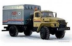 УМП-400 (Горыныч) на шасси Урал 43206