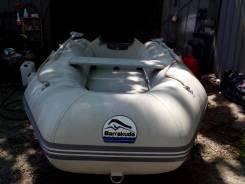 Продам лодку барракуда с телегой.