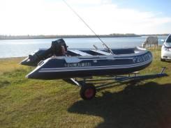 Продам лодку пвх с мотором.