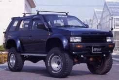 Дефендер крыла Nissan Terrano 21 (1989-1995) ширина 90 мм