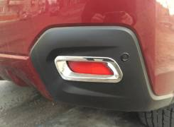 Накладки на фонари заднего бампера Subaru XV 2011-2015