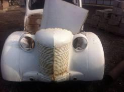 Москвич 401 кузов с запчастями