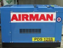 Продаю  дизельный винтовой воздушный компрессор Airman PDS 125 S