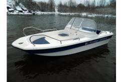 """Продам моторную стекло-пластиковую лодку """"Wyatboat-430DCM"""" 2016г."""