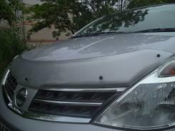 Дефлектор капота. Nissan Latio Nissan Tiida
