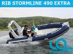Корейская лодка Mercury Риб 490 Extra Luxe, 5 лет гарантии! Спец. цена