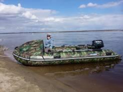 Продам лодку ПВХ с мотором сузуки 9,9
