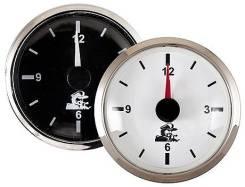Часы, черный циферблат
