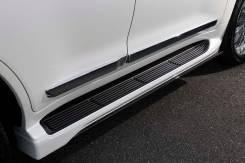 Накладки на подножки Elford на Land Cruiser 200, Lexus LX570 AutoArt.