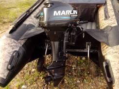 Лодочный мотор Marlin 9.9 л. с. б/у в хорошем состоянии на гарантии