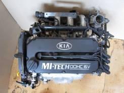 Двигатель в сборе. Kia Carens