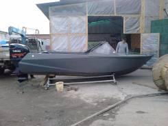 Алюминиевая цельносварная лодка Барракуда 5.5