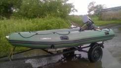 Продам лодку Лидер 380
