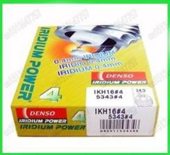 Комплект иридиевых свечей Denso IKH16 (4шт) для Toyota, Nissan