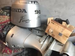 Продам лодочный мотор в отличном состоянии 4-х тактный 90 л. с с датчик