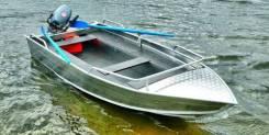 Wyatboat. 2019 год, длина 3,80м., двигатель без двигателя, 15,00л.с., бензин. Под заказ