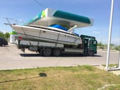 Доставка водномоторной техники: Владивосток - о. Сахалин