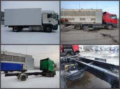 Переоборудование седельных тягачей МАЗ, Камаз, Scania, DAF, RENO.