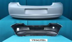 Бампер Задний Volkswagen POLO (V) `09-143/5door грунт