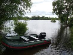 Продам лодку ПВХ 3,35 м Мнев под мотор до 20 сил.