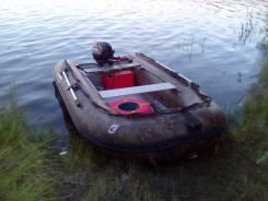 Подам лодку ПВХ с мотором