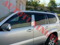 Накладки на стойки дверей на LAND Cruiser Prado 120 ХРОМ