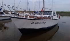 Продам/обменяю парусно-моторную яхту. Длина 12,00м.