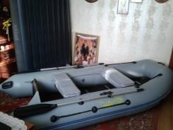 """Продам лодку надувную ПВХ """"Адмирал 290"""" под мотор 6 л. с."""