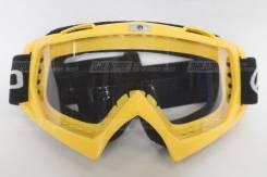 Мотоциклетные очки Cfmoto (противоскользящая резинка) жёлтые