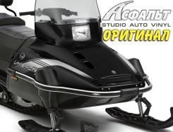 Наклейки на снегоход Yamaha VK 540 IV (Черный капот)