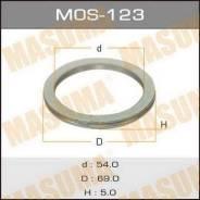 Кольцо глушителя MOS123, 69x54x5мм Masuma (71111)