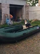 Продам надувную лодку svat + двигатель 30 л. с.