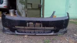 Бампер передний с губой на toyota fielder NZE121 кузов