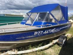 Продам моторную лодку Wellboat с мотором, 2009 г.
