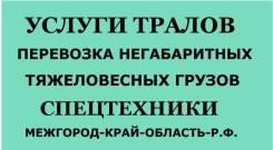 Услуги Тралов-Площадок-Полуприцепов-Фур. Возим все от 8 кг. до 80 тон