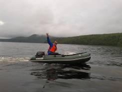 Проодам полупрофессиональную лодку с мотором